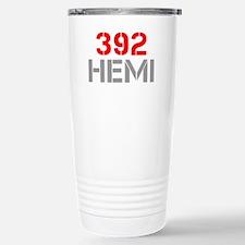 392-hemi-clean-red-gray Travel Mug