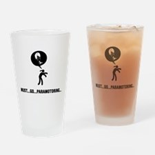 Paramotoring Drinking Glass