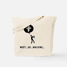 Race Walking Tote Bag