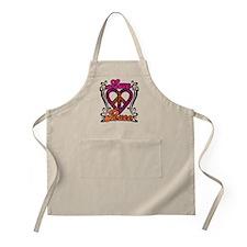 LOVE PEACE Heart Design Apron