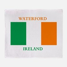 Waterford Ireland Throw Blanket