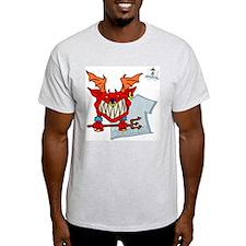 Azazel - Ash Grey T-Shirt