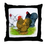 Assorted Cochins Throw Pillow