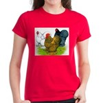 Assorted Cochins Women's Dark T-Shirt