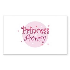Avery Rectangle Decal