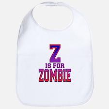 Z is for Zombie Bib