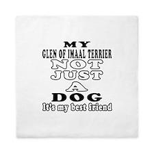 Glen of Imaal Terrier not just a dog Queen Duvet