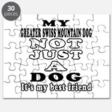 Greater Swiss Mountain Dog not just a dog Puzzle