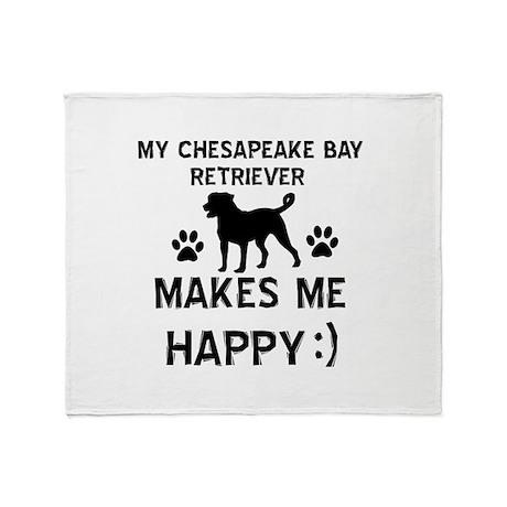 My Chesapeake Bay Retriever dog makes me happy Thr