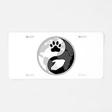 Universal Animal Rights Aluminum License Plate