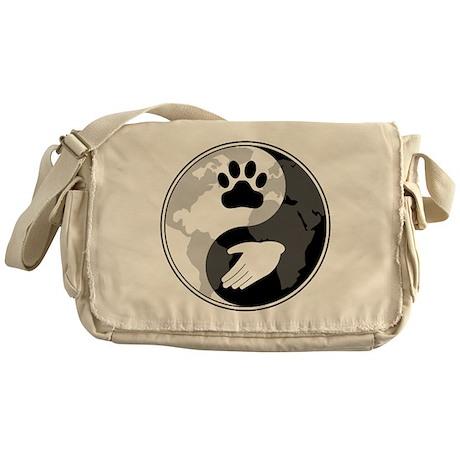 Universal Animal Rights Messenger Bag