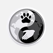 "Universal Animal Rights 3.5"" Button"
