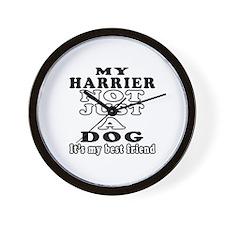 Harrier not just a dog Wall Clock