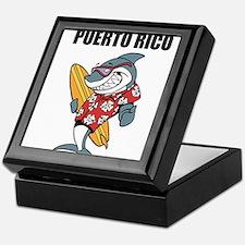 Puerto Rico Keepsake Box