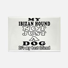 Ibizan Hound not just a dog Rectangle Magnet (100