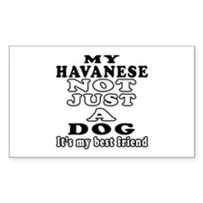 Havanese not just a dog Decal