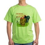 Cochins Trio Green T-Shirt