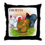 Cochins Trio Throw Pillow