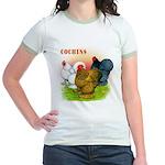 Cochins Trio Jr. Ringer T-Shirt