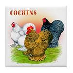 Cochins Trio Tile Coaster