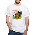 Cochins Trio White T-Shirt
