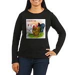 Cochins Trio Women's Long Sleeve Dark T-Shirt