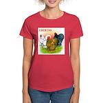 Cochins Trio Women's Dark T-Shirt