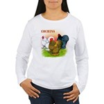 Cochins Trio Women's Long Sleeve T-Shirt