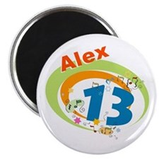 "Cute Bar mitzvah party 2.25"" Magnet (10 pack)"