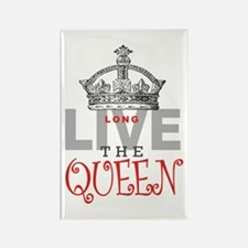 Long Live the QUEEN Rectangle Magnet