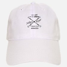 Twirling Athlete Baseball Baseball Baseball Cap