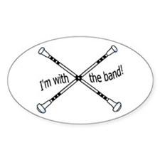 Im with the band, Twirler Decal