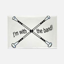 Im with the band, Twirler Rectangle Magnet