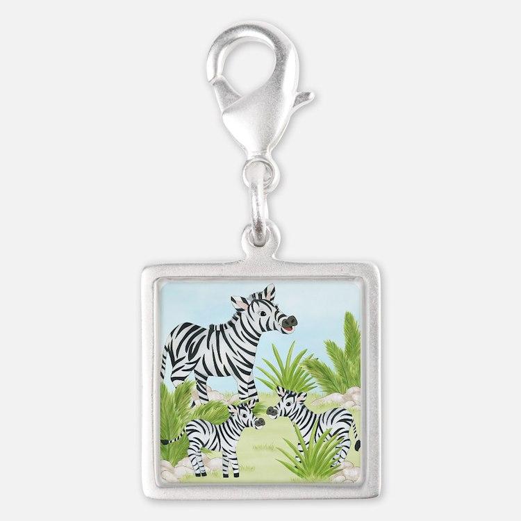 Zebra Charms