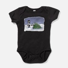 Felling The Holiday Tree Baby Bodysuit