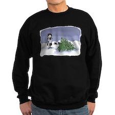 Felling The Holiday Tree Sweatshirt