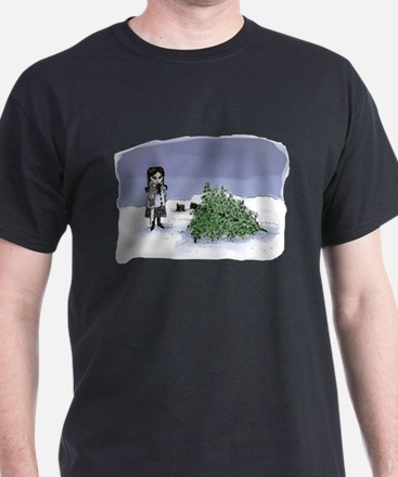 Felling The Holiday Tree T-Shirt