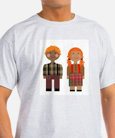 Ann and Andy 2 Ash Grey T-Shirt