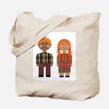 Ann and Andy 2 Tote Bag
