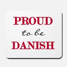 Danish Pride Mousepad