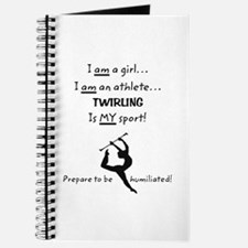 Twirling Athlete Journal