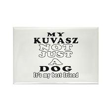 Kuvasz not just a dog Rectangle Magnet (10 pack)