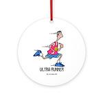 Ultra Runner Ornament (Round)