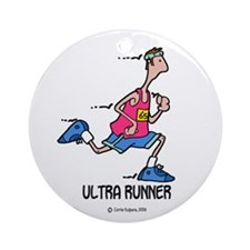 Ultra Runner Ornament (Round)