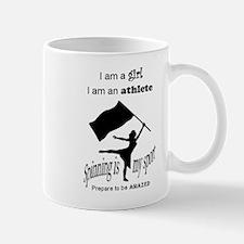Spinning Athlete Mug