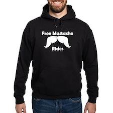 Free Mustache Rides Hoody