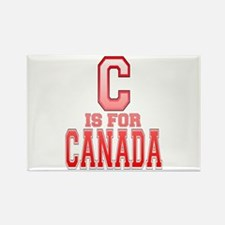 C is for Canada Rectangle Magnet