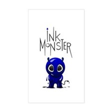 Inky Monster Decal