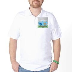 Fishbowl Divorce Golf Shirt