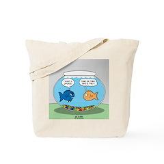 Fishbowl Divorce Tote Bag